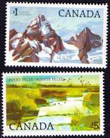CANADA - KANADA - Lake Erie GLACIER - NATIONAL PARK - **MNH - 1983/4 - Otros