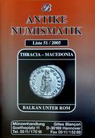 Numismatique Antique : Catalogue GB N° 51 Thrace & Macédoine Balkans Sous ROME - Livres & Logiciels