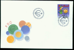 Fd Aland Islands FDC 2002 MiNr 198   Euro Currency. Woman Pushing Shopping Trolley - Aland