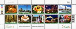 Thailand - 2008 - Amazing Thailand - Saneh Bangkok - Mint Stamp Sheetlet - Thailand