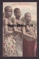 Old ANTIQUE Postcard Vintage Photo Snapshot Foto NAKED AFRICAN NATIVE GIRLS NUDE WOMEN PRETTY YOUNG LADY TOPLESS #193 - Unclassified