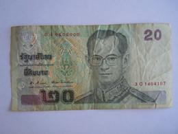 Thailande Thailand 20 Bath Roi 3C1404107 - Thailand