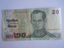 Thailande Thailand 20 Bath Roi 0J5437017 - Thailand