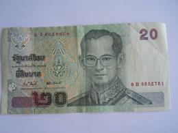 Thailande Thailand 20 Bath Roi 6B9852781 - Thailand