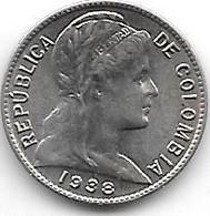 *colombia  1 Centavo 1938  Km 275  Bu /ms65 - Colombia