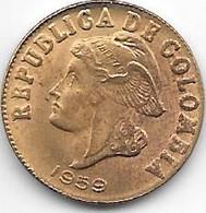 *colombia  2 Centavos 1938  Km 214  Bu /ms65 - Colombia