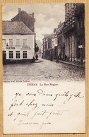 Be273 CHIMAY Hainaut Epiceries-Merceries GUERIN Rue ROGIER 1904 De Jules TOURNEUR à Firmin AYECK Brienne-le-Chateau - Chimay