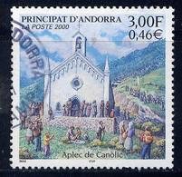 ANDORRE - N° 531° - EGLISE DE CANOLIC - Usati
