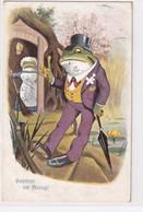 Frosch - Gewitter Im Anzug - Signiert - 1908          (A-315-201107) - Autres