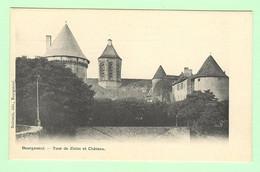 H1336 - BOURGANEUF - Tour De Zizim Et Château - Bourganeuf
