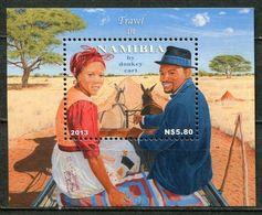 Namibia Mi# Block 83 Postfrisch/MNH - Rual Transport - Namibia (1990- ...)