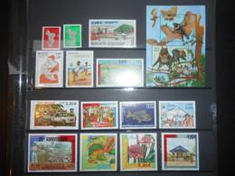 Mayotte, Annee 2001 Complete Faciale 13,30 Euros - Ungebraucht