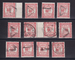 D 159 / TAXE /  LOT N° 48 OBL - Verzamelingen