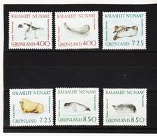DDT481  GRÖNLAND  1991  Michl  211/16  ** Postfrisch SIEHE ABBILDUNG - Unused Stamps