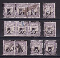 D 159 / TAXE /  LOT N° 51 OBL - Verzamelingen