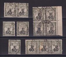 D 159 / TAXE /  LOT N° 52 OBL - Verzamelingen