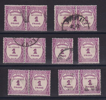 D 159 / TAXE /  LOT N° 59 OBL - Verzamelingen
