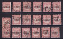 D 159 / TAXE /  LOT N° 63 OBL - Verzamelingen