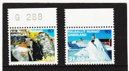DDT545  GRÖNLAND  2002  Michl  376/77  ** Postfrisch SIEHE ABBILDUNG - Unused Stamps