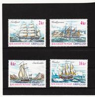 DDT546  GRÖNLAND  2002  Michl  381/84  ** Postfrisch SIEHE ABBILDUNG - Unused Stamps