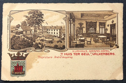 "KURHAUS,GRAND HOTEL.      ""T HUIS TER GEUL"",VALKENBERG.Propriétaire André Vecqueray - Valkenburg"