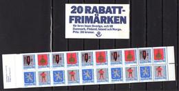 Suède 1986, Armoiries De Provinces, C 1368**, ( 38 Sek), Cote 40 €, - 1981-..