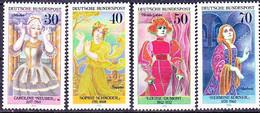BRD FGR RFA - Bedeutende Deutsche Frauen  (MiNr: 908/11) 1976 - Postfrisch MNH - Unused Stamps