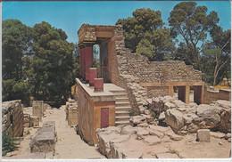 CNOSSOS, KNOSSOS - L'entrée N. Du Palais, The N Entrance Of The Palace, Nice Stamp - Greece