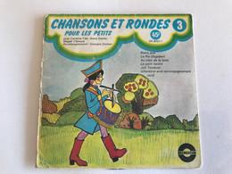 CHANSONS ET RONDES Pour Les Petits - 45t - - Bambini
