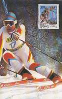MAXIMUM CARD YUGOSLAVIA 2259 - Ski