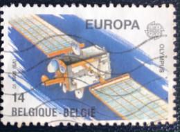 België - Belgique - Belgium - G1/32 - (°)used - 1991 - Michel 2458 - Europa - Ruimtevaart - 1991