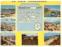 (NN 7) France - Côte Vendéenne (telegram Shape Card) - Gruss Aus.../ Grüsse Aus...