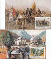 YUGOSLAVIA Maximum Card 2438-2439 - Unclassified