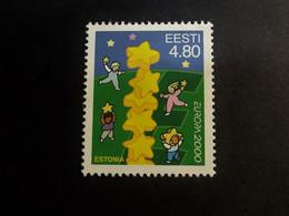 Estland - Estonia - Estonie - Europa Cept 2000 Stamp - Mi 371  - Children Games - MNH** - Estonia