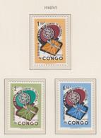 CONGO MNH** COB 462/64 PALUDISME - Republic Of Congo (1960-64)