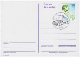 UNO Wien Postkarte P 2 Taube Mit Olivenzweig 5 Schilling 1982, ET 28.4.1982 - Sin Clasificación