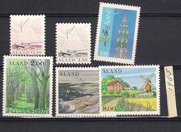1985 MNH Aland  Year Complete, Postfris - Aland