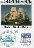 Germany Special Sheet - Transport Ship - Navy School - Gorch Fock - Maritime