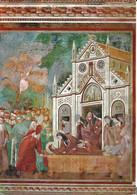 Italie. CPM. Perugia. Umbria. Assisi. Basilica Superiore Di San Francesco. Les Pleurs Des Clarisses à St.Damiano - Perugia