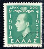 Hellas - Greece - A1/1 - (°)used - 1952 - Michel 592 - Koning Paul I - Gebraucht