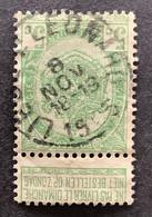 Rijkswapen 83 - 5c Gestempeld EC LIEGE ST LEONARD - 1893-1907 Stemmi