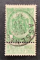 Rijkswapen 83 - 5c Gestempeld EC ASSENEDE - 1893-1907 Stemmi