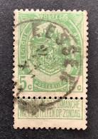 Rijkswapen 83 - 5c Gestempeld EC EESSEN - 1893-1907 Stemmi