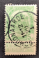 Rijkswapen 83 - 5c Gestempeld EC SCHOONAARDE - 1893-1907 Stemmi