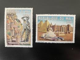 Mali 1994 Mi. 1325 - 1326A Année Internationale Du Tourisme Tourism Pyramids Egyp Sphinx 2 Val. MNH** - Mali (1959-...)
