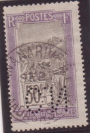 MADAGASCAR Type FILANZANE 50c Perforé C.N. Oblitération Cachet Type Pneumatique TANANARIVE RP - Used Stamps
