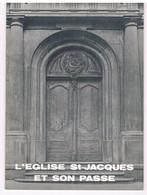Brochure  - NAMUR  - Eglise Saint Jacques Et Son Passé - Altri