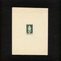 """FRANCE- EPREUVE D'ARTISTE DE 1957- COULEUR VERTE """" GEORGE SAND """"( EPREUVE DU TIMBRE N° 1112 DE 1957 ) - ETAT BON MOYEN - Prove D'artista"""