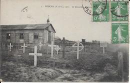 Carte En Bon état Feuchy 1920  Le Cimetière Anglais - Autres Communes
