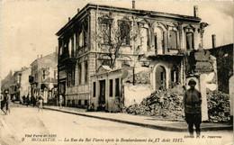 CPA AK MONASTIR BITOLA La Rue Du Roi De Pierre MACEDONIA SERBIA (709343) - Macedonia